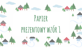 Papier prezentowy wzór 1