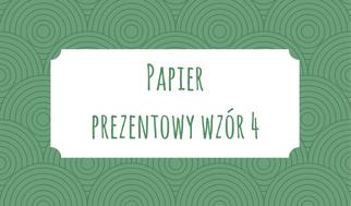 Papier prezentowy wzór 4